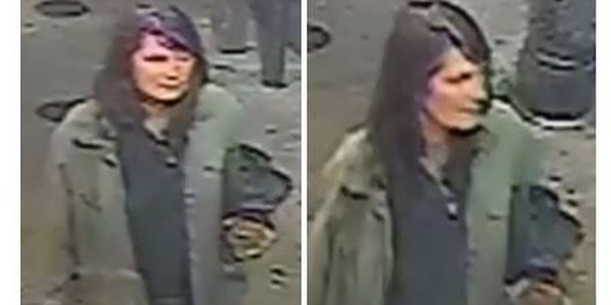 VIDEO: Woman wanted for poking pedestrians