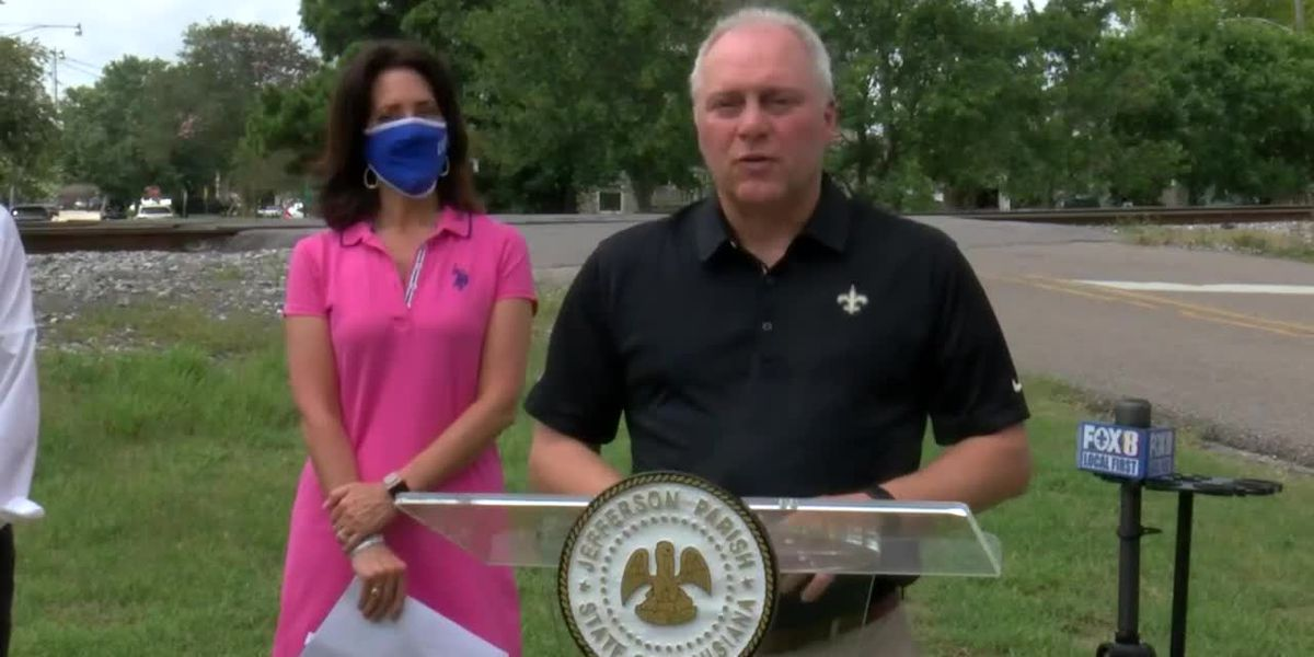 VIDEO: Steve Scalise, Jefferson Parish leaders discuss announcement on Old Metairie train issue