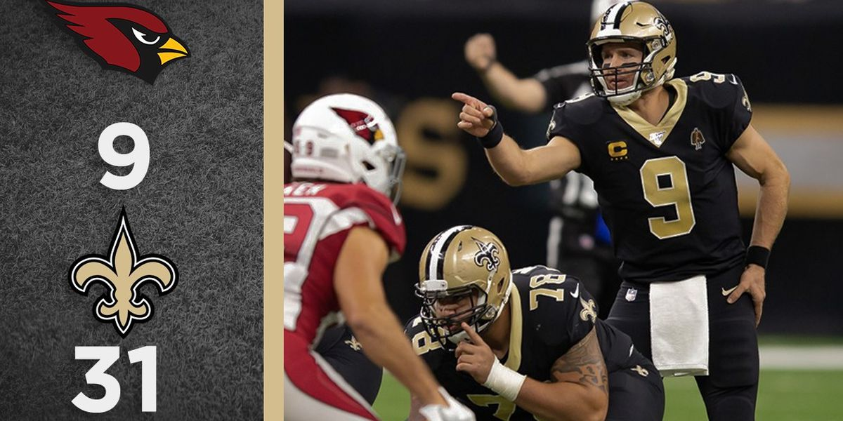 Overtime Podcast #95 - Saints beat Cardinals handily in Brees' return