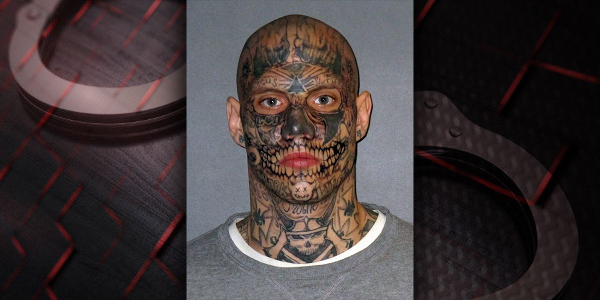 Man known for face covered with tattoos in mugshots convicted of 2017 double murder in Louisiana