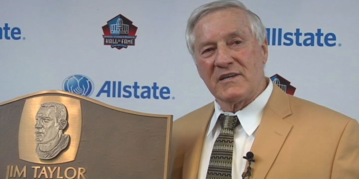 Former Green Bay Packers FB and LSU alum Jim Taylor dies at 83