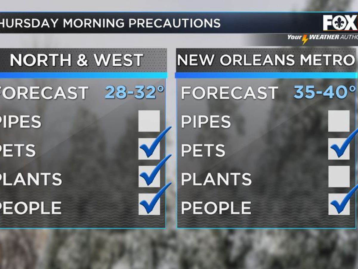 New Orleans activates freeze plan