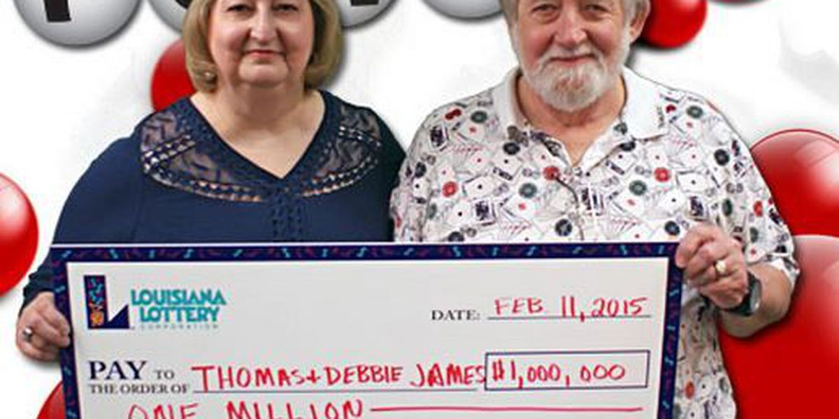 Couple cashes in winning $1M ticket from Louisiana Powerball