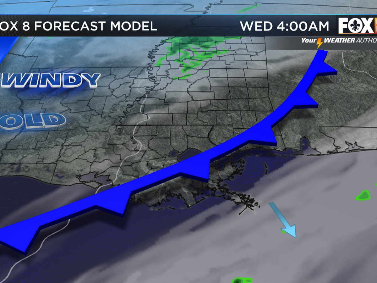 Zack: Cold, dry stretch of weather on the way
