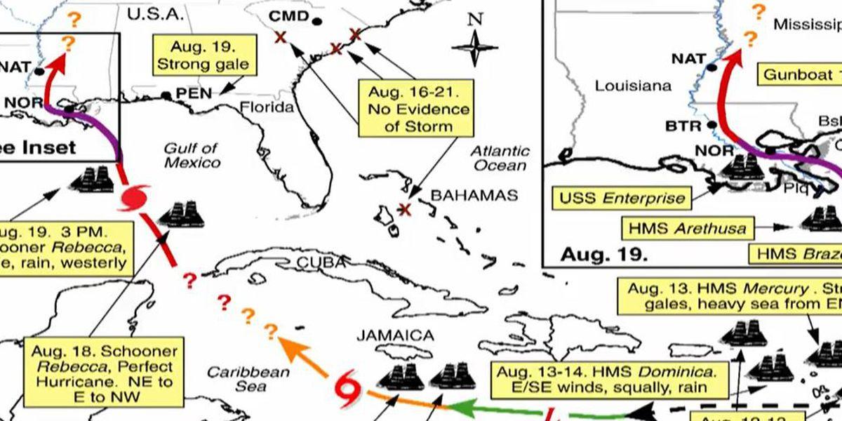 Heart of Louisiana: 1812 Hurricane