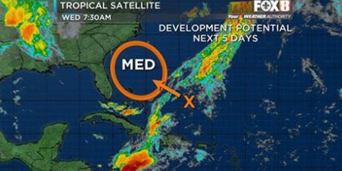 System in the Atlantic Ocean has 'medium' chance for development