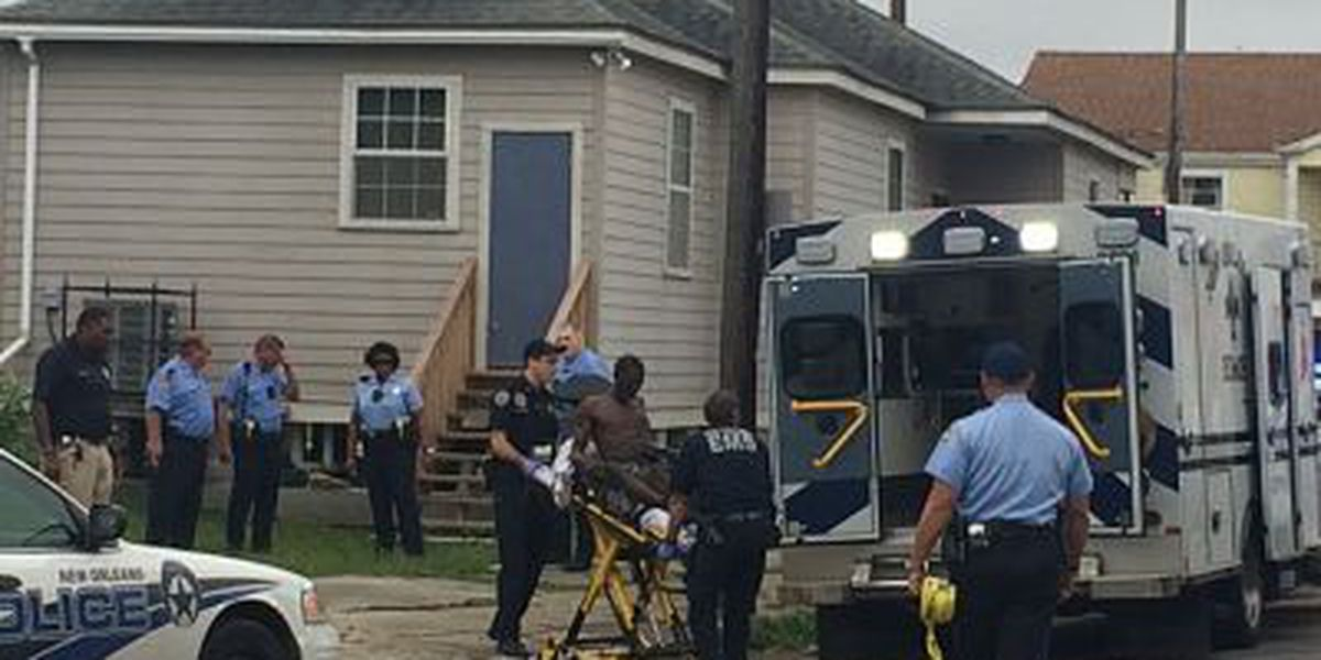 NOPD: Man shot in Central City as he stole items from shed