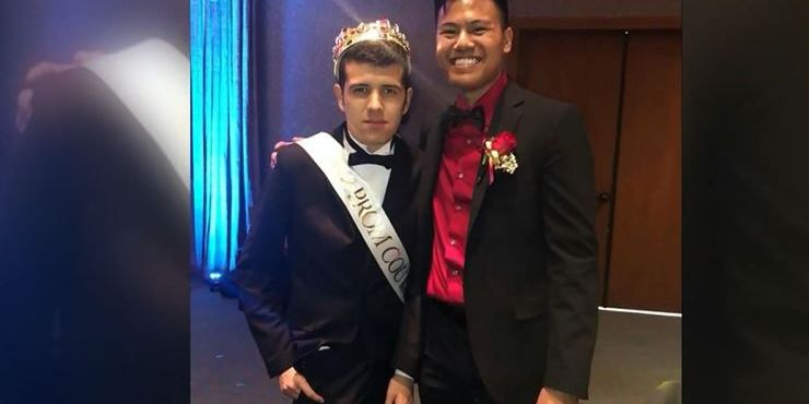 'I feel special': Student with autism crowned prom king after classmate's selfless act