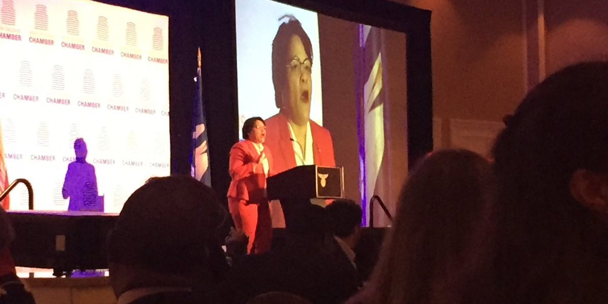 Mayor Cantrell addresses business leaders on the state of the city