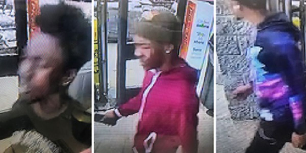 New surveillance released of people involved in Walmart purse snatching, stolen car