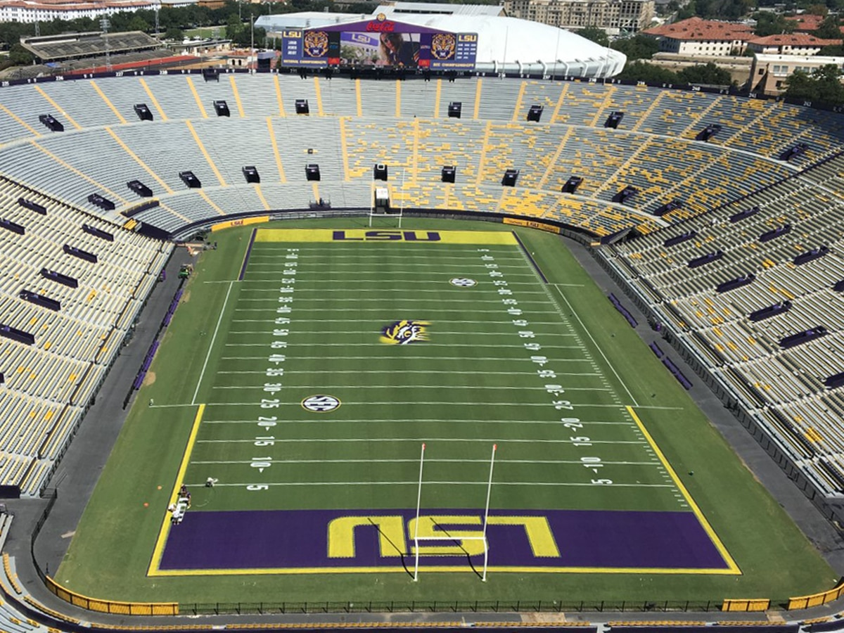 LSU officials lay out game day procedures