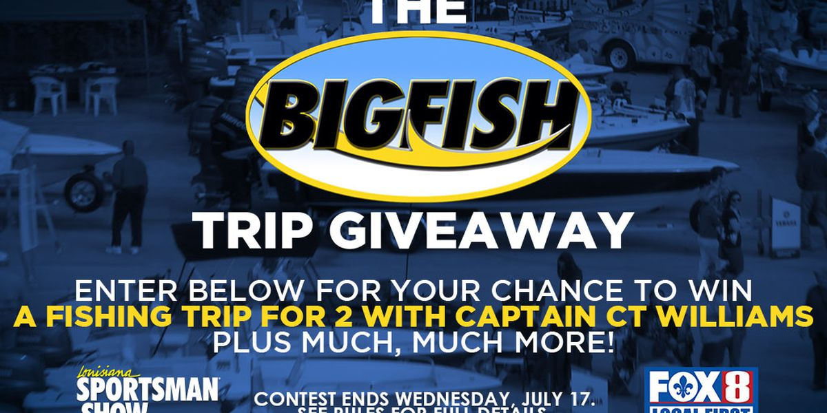 OFFICIAL CONTEST RULES: BIGFISH Trip Giveaway