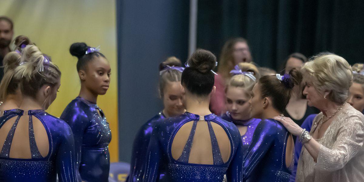 No. 4 LSU gymnastics travels to Arizona