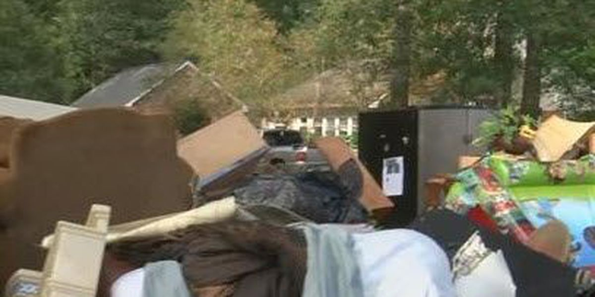 Free disaster home cleanup hotline
