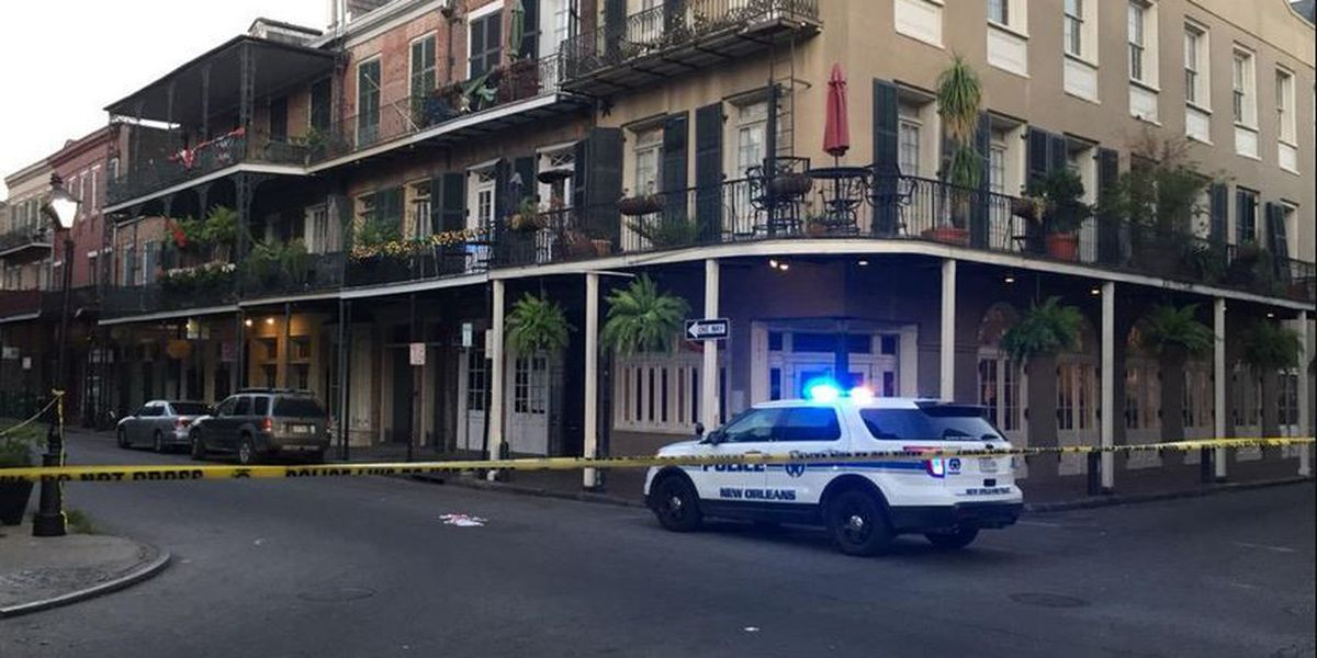 Man stabbed Tuesday morning in French Quarter