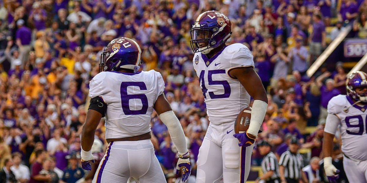 LSU LB Michael Divinity Jr. returns for senior season