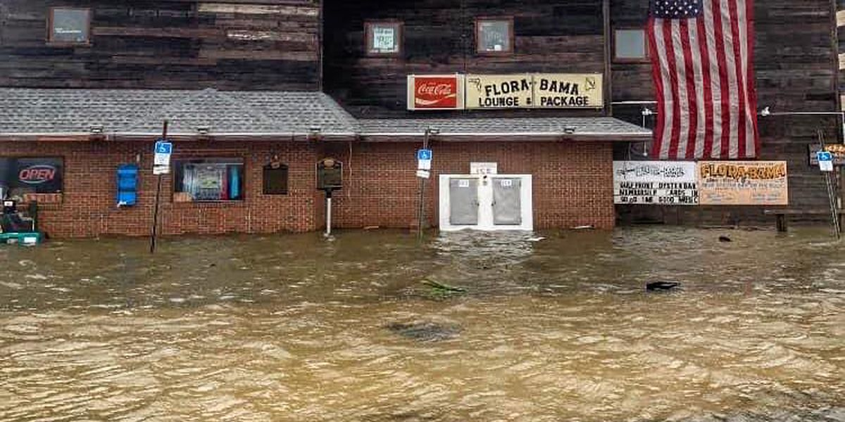 Flora-Bama suffers damage from Hurricane Sally, but still standing