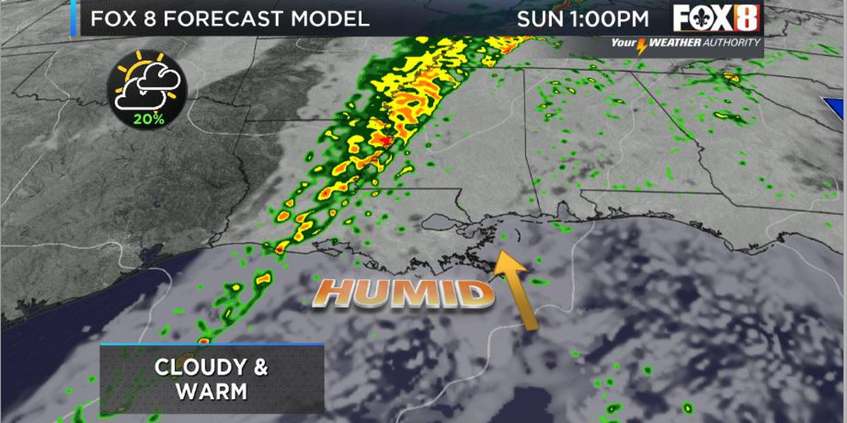 Nicondra: Some rain around with a cold front on the way