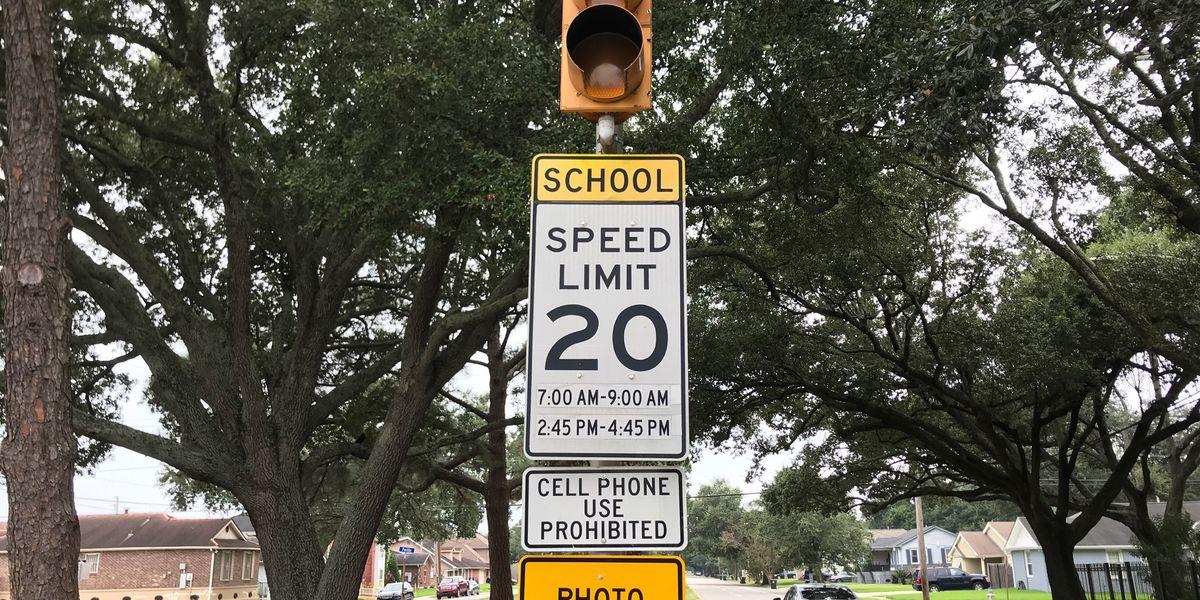 School zone cameras activated in Orleans Parish