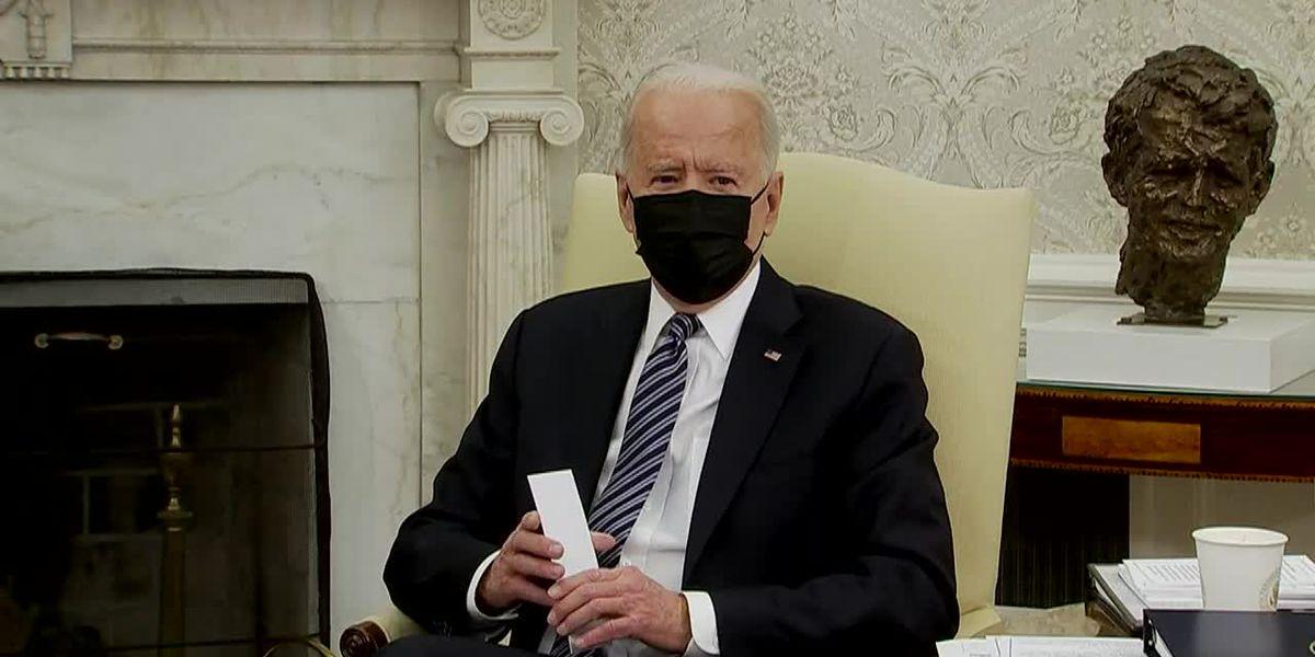 Biden seeks infrastructure deal in meeting with Hill leaders