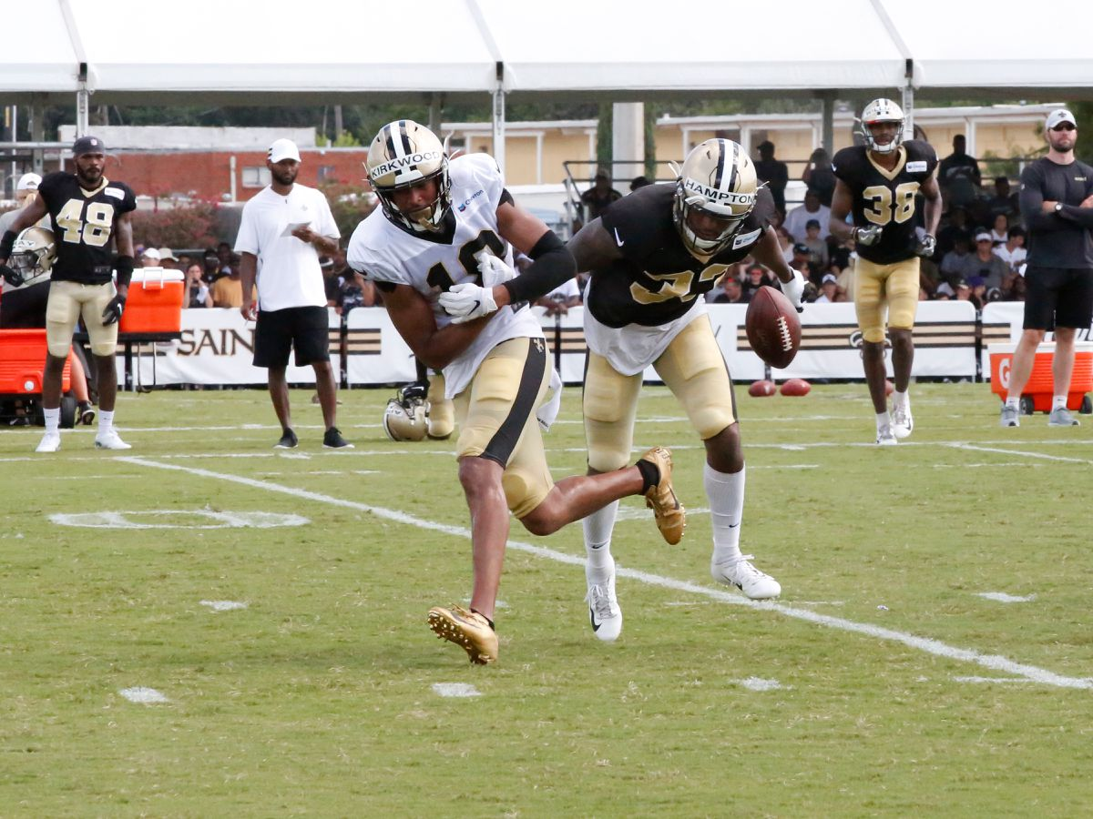 Saints designate WR Keith Kirkwood for return from injured reserve