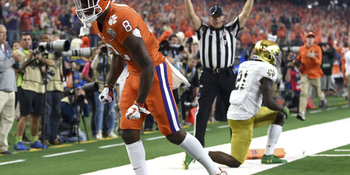 Clemson crushes Notre Dame in College Football Playoff semi-final