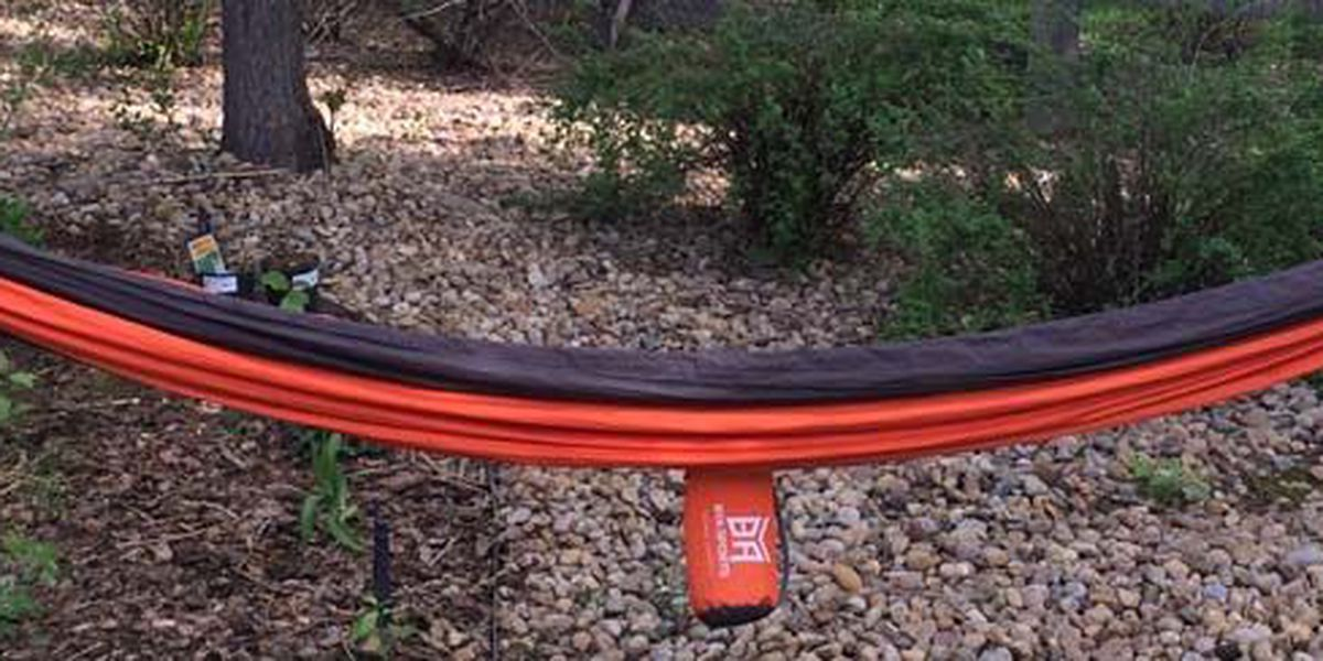 Hammocks recalled after reports of rings breaking