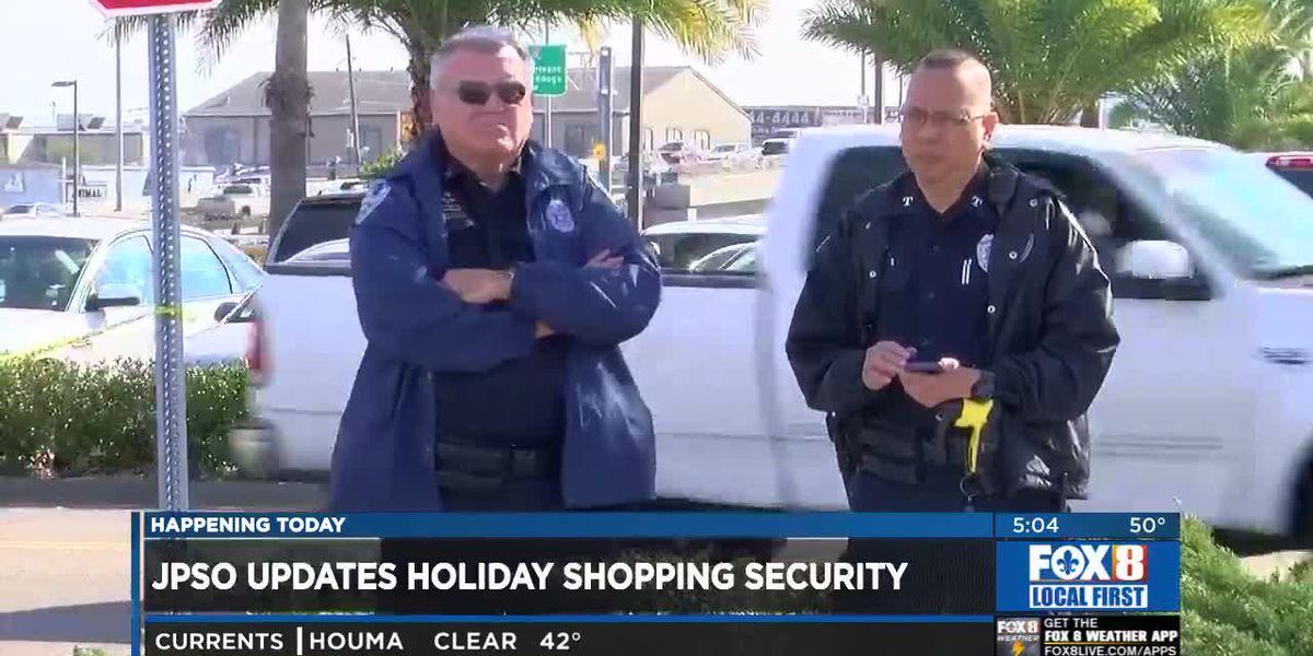 Sheriff: More law enforcement on duty for holiday shopping in JP