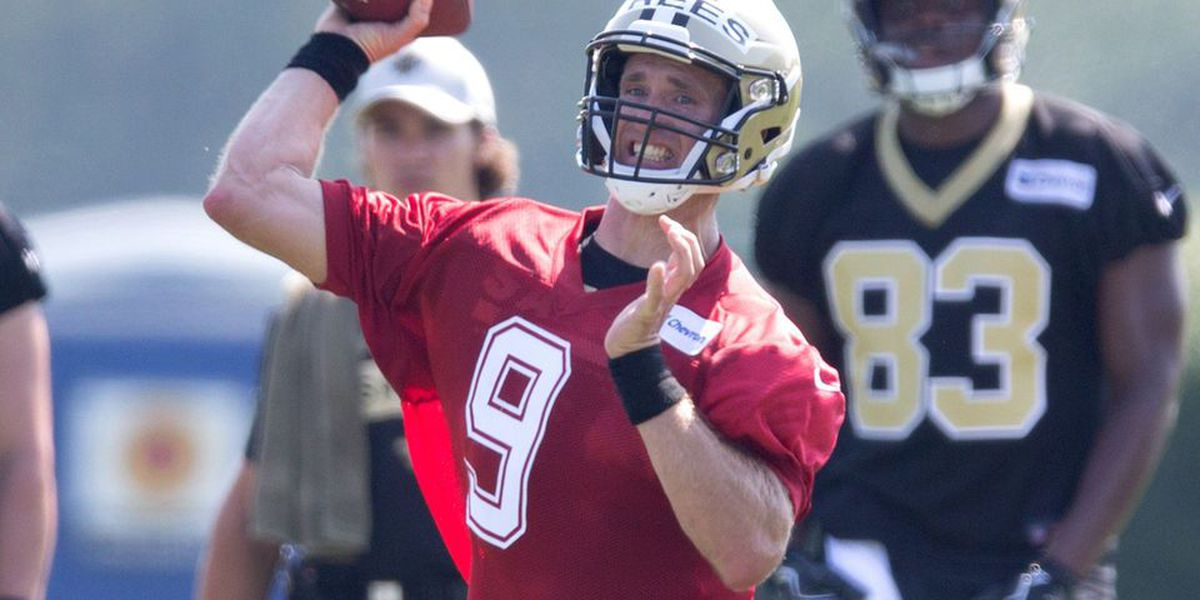 Brees 'still having fun' entering 18th NFL season