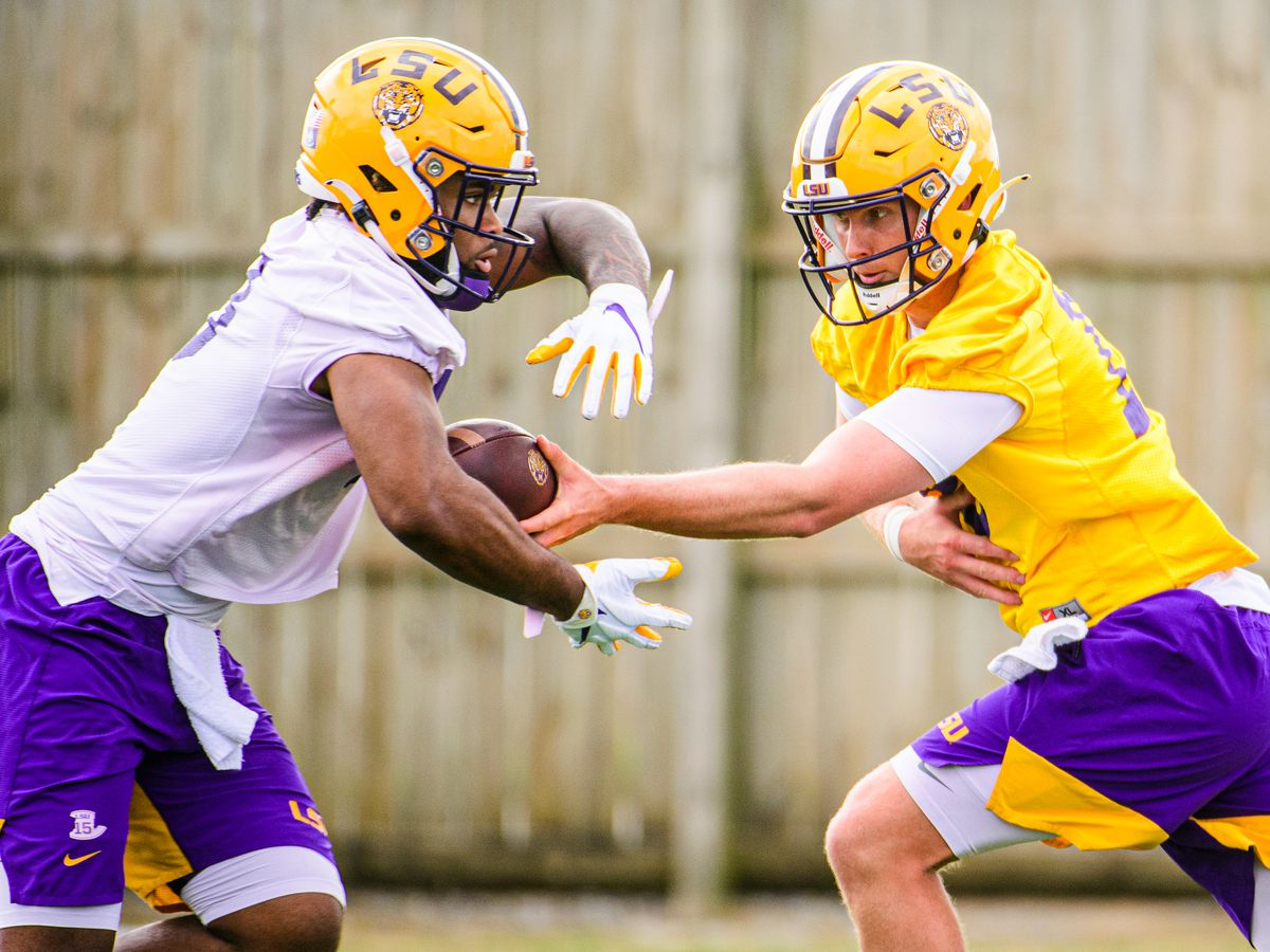 LSU starting QB spot still up for grabs
