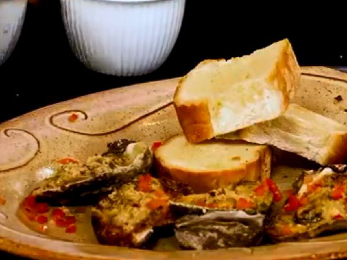 Chef Folse: Chargrilled Oysters