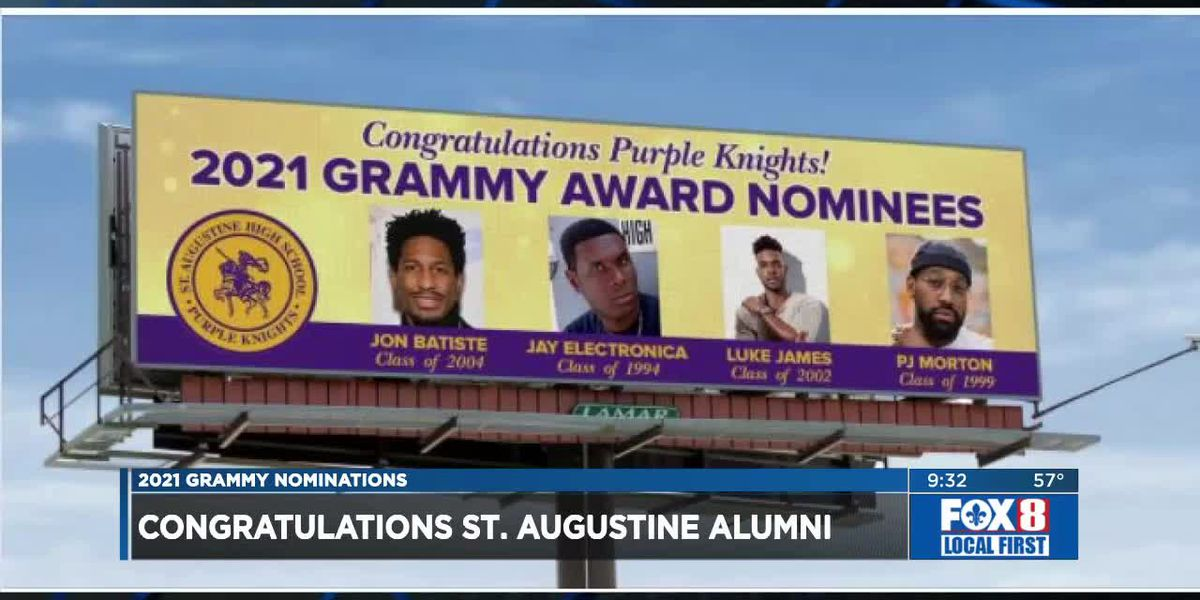 St. Aug alums congratulated on billboard