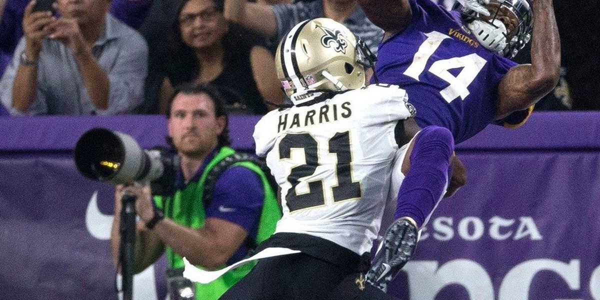 Saints lined up a player short on first defensive snap of Vikings game