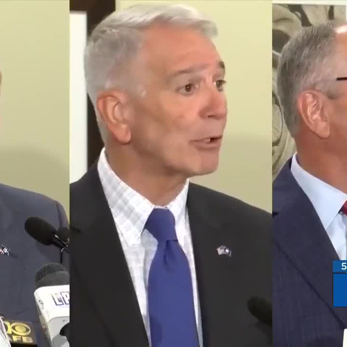 New FOX 8 poll shows how Edwards & Rispone stack up with different groups of voters and statewide