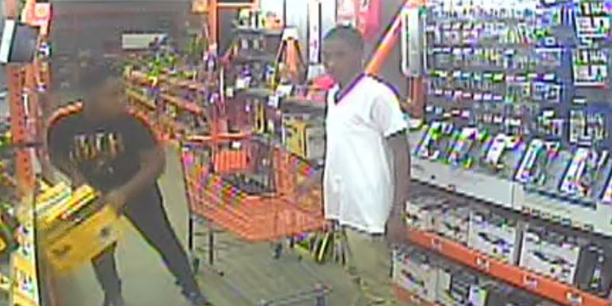 Suspects sought for theft of power tools valued over $15k