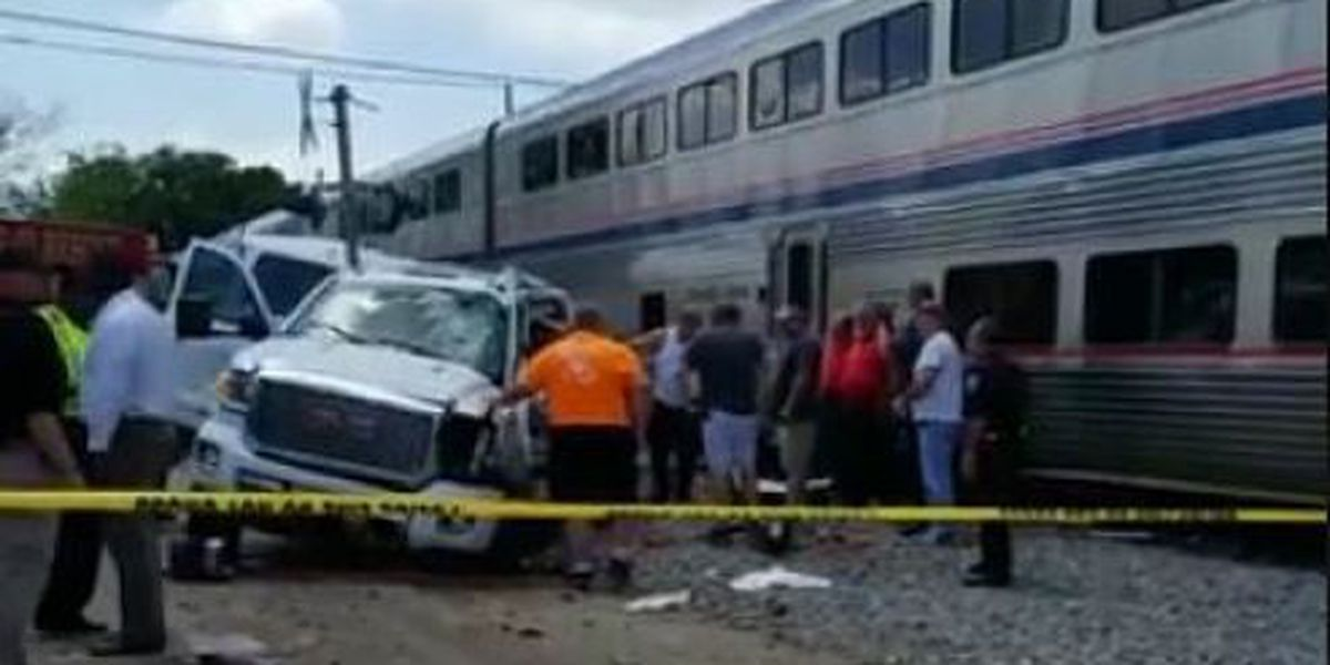 Amtrak train from New Orleans involved in crash with vehicle