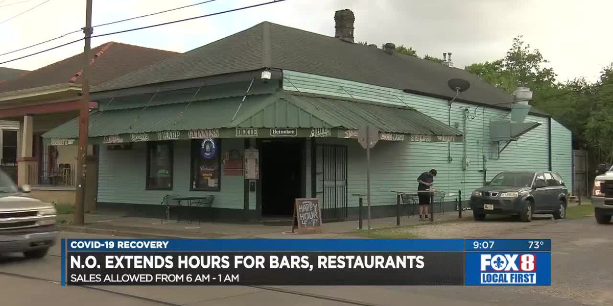 New Orleans extends bar hours