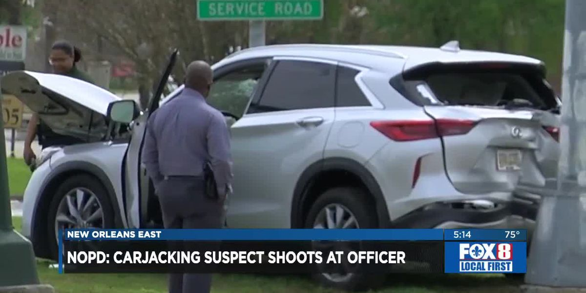 Teenager, man arrested after shootout, carjackings in New Orleans East