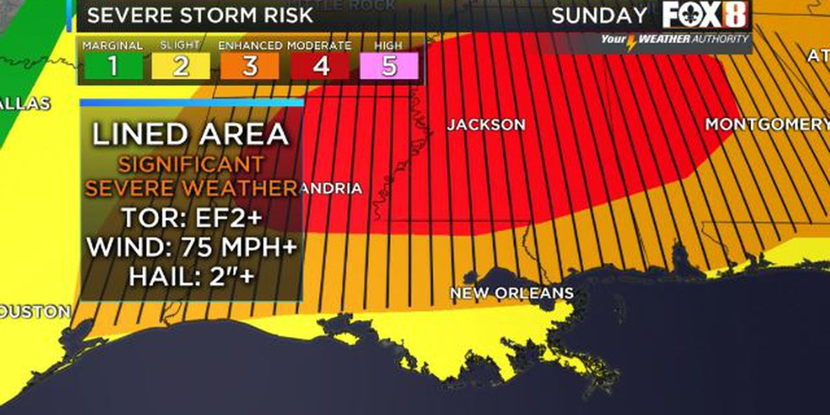 Quiet Saturday ahead of Easter Sunday severe weather outbreak