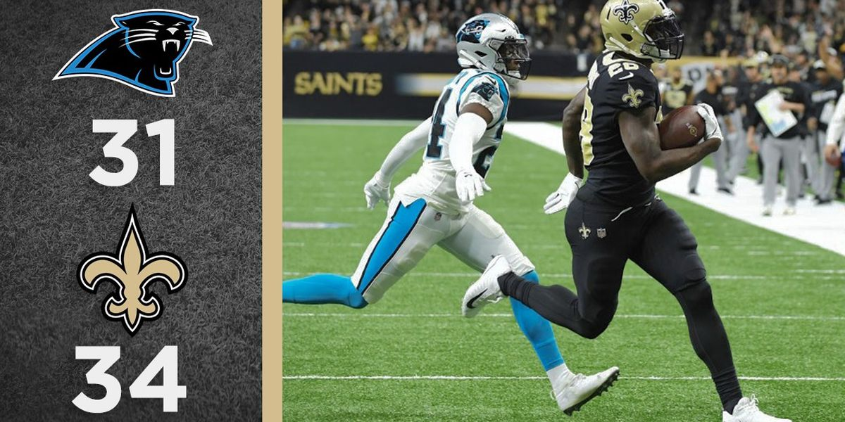 Overtime Podcast #109 - Saints endure to beat Panthers
