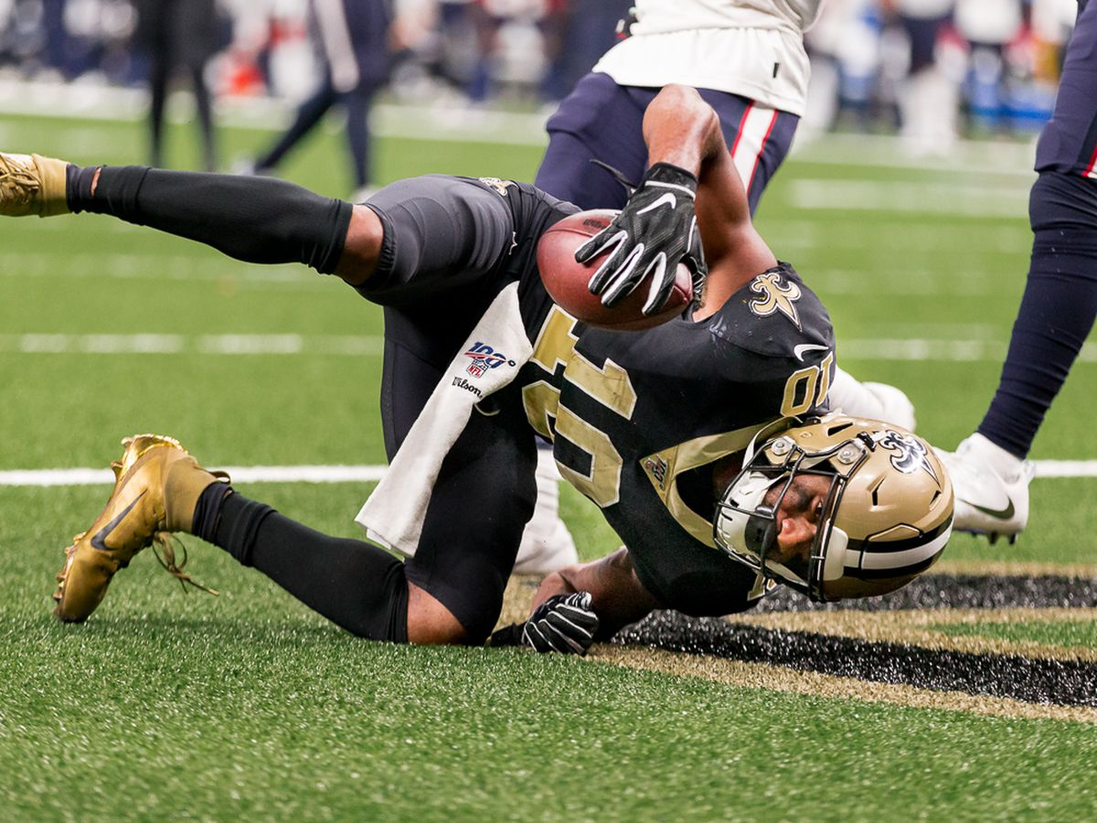 Saints Injury Report for Wednesday 9/18/19