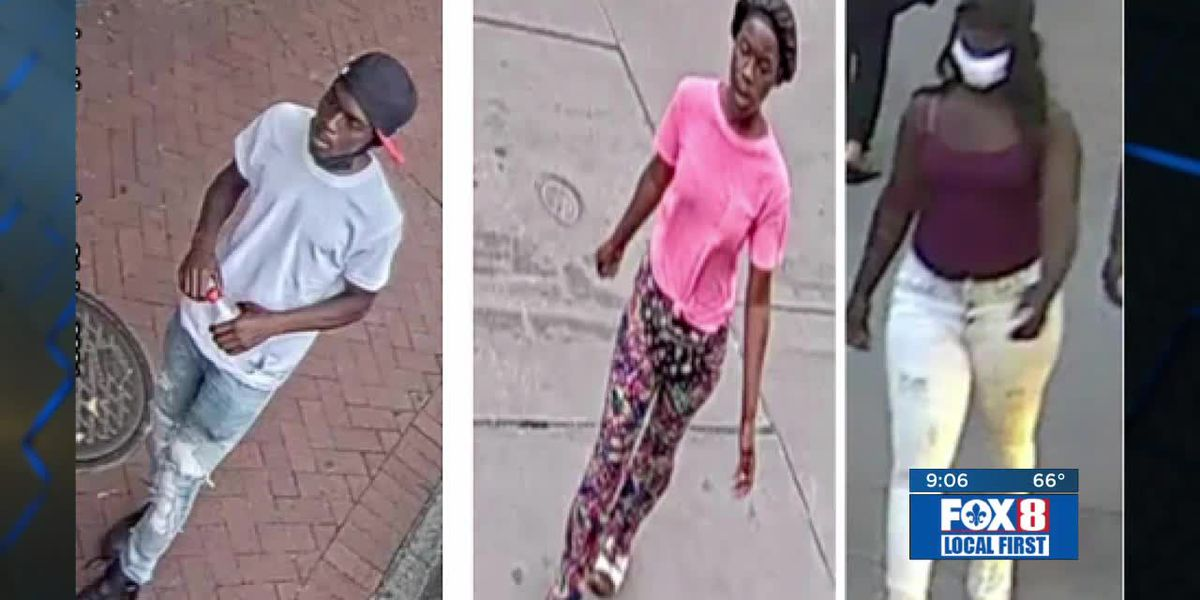 NOPD searching for 3 persons of interest in homicide case