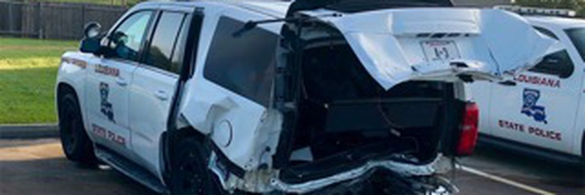 State trooper struck by suspected drunk driver in construction zone