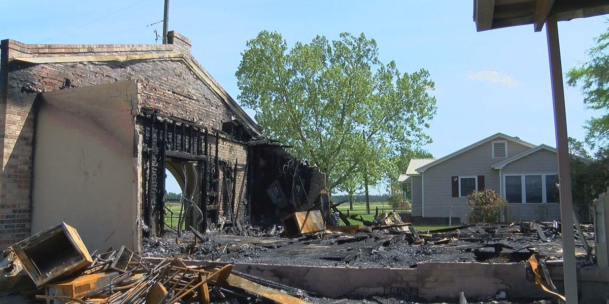 'I practice what I preach': La. church burning suspect photographed fires for black metal album art