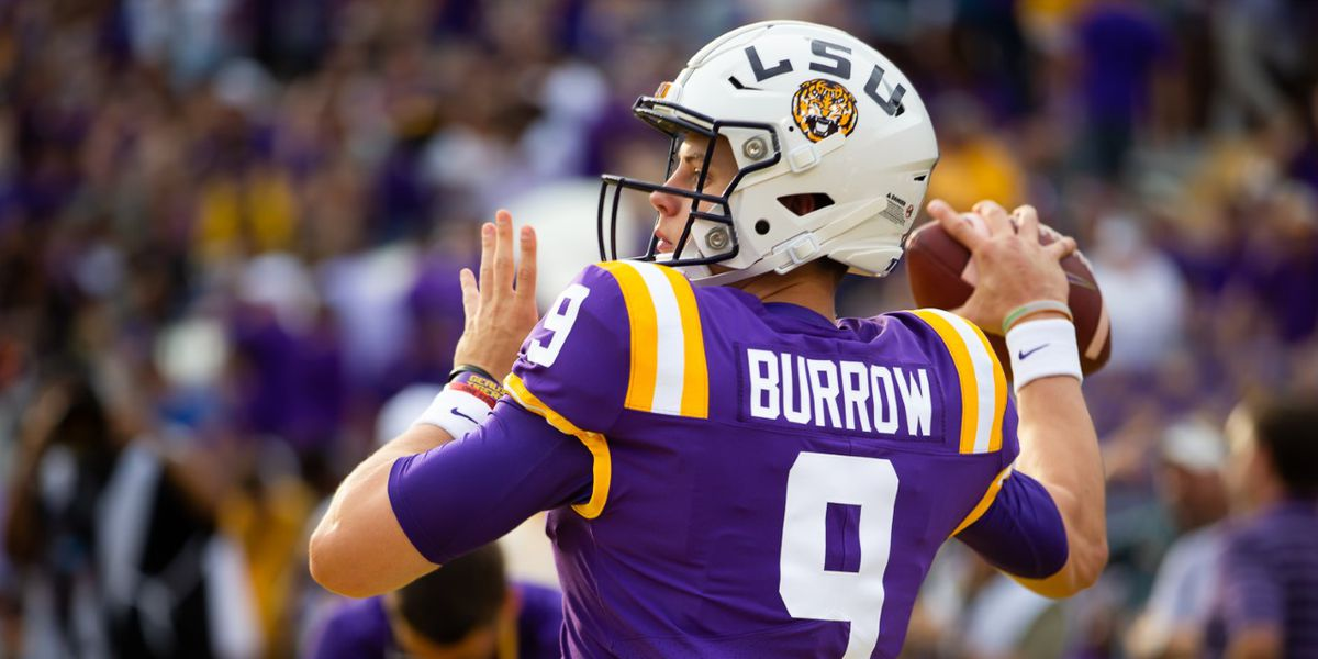 Burrow throws a school record 6 TD passes in blowout win over Vandy