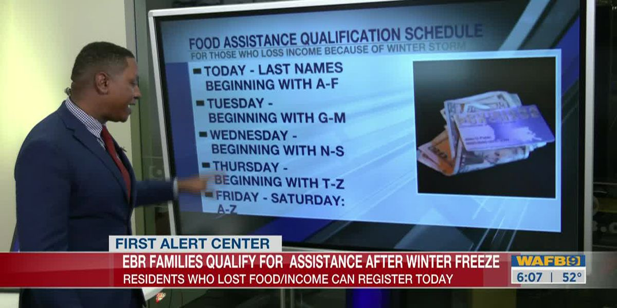 DSNAP benefits for Winter Storms
