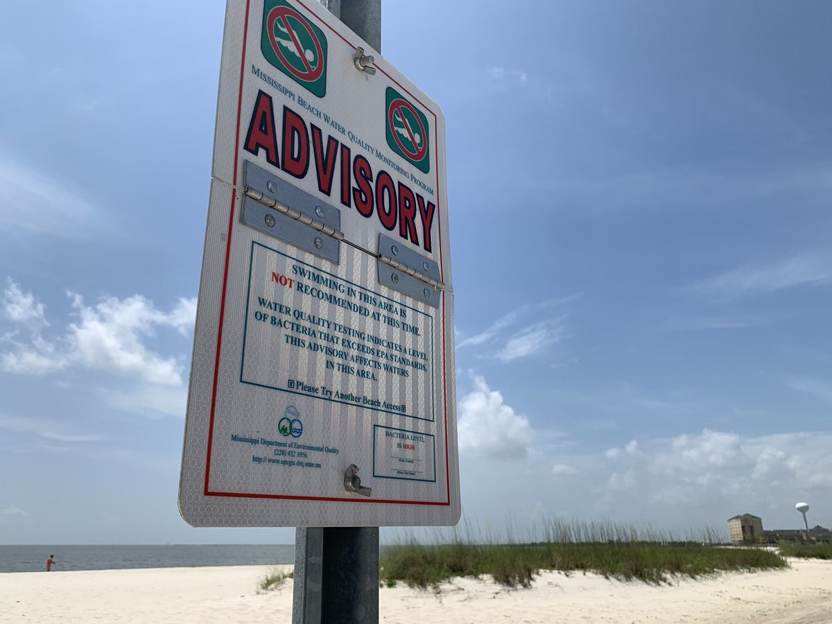 Update Algae Bloom Beach Closings Now Extend Into Harrison County