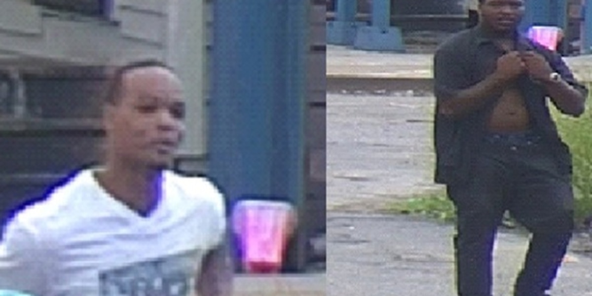 2 sought as persons of interest in Gert Town killing