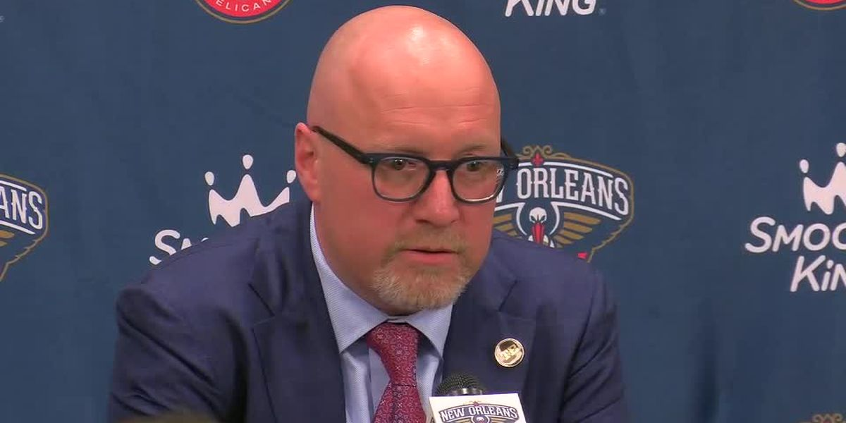 David Griffin breaks down the Pelicans selection of Zion Williamson