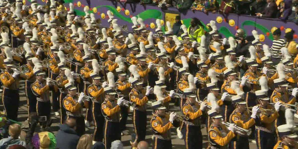 LSU band member unable to march in Zulu parade after hat stolen